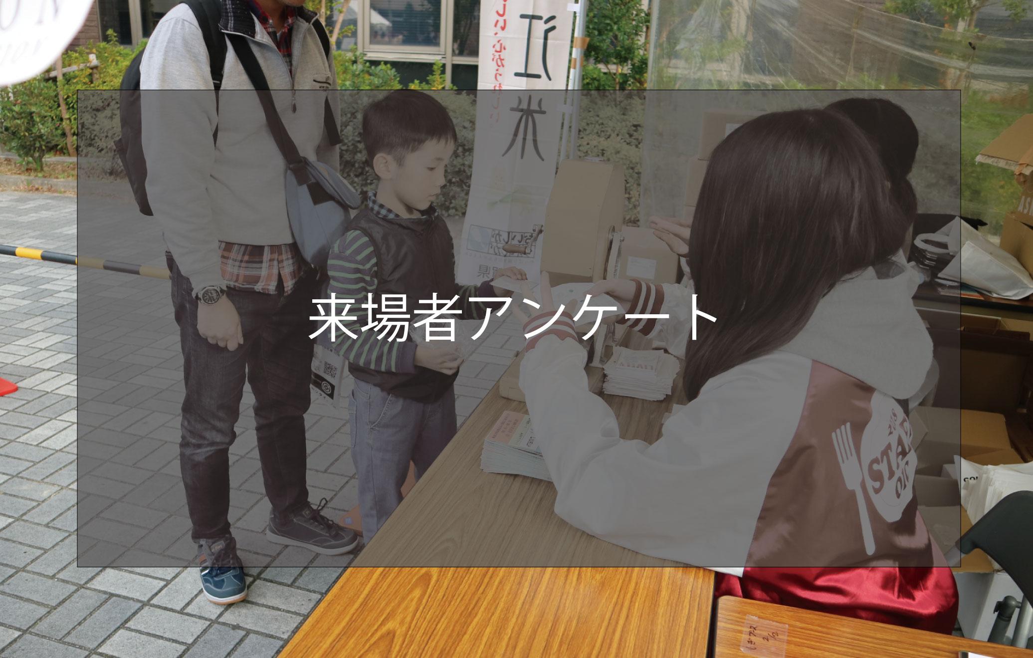 BKC祭典 来場者アンケート